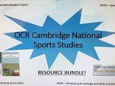 OCR Sports Studies R051- Contemporary Issues in Sport. (FULL SCHEME OF WORK)