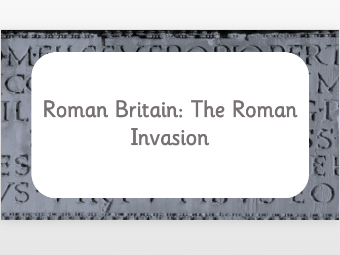 Roman Britain: The Roman Invasion