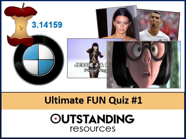 Ultimate FUN QUIZ 2020 #1 (End of Year Quiz, End of Term QUIZ) - Logos, Dingbats, Music, Movies