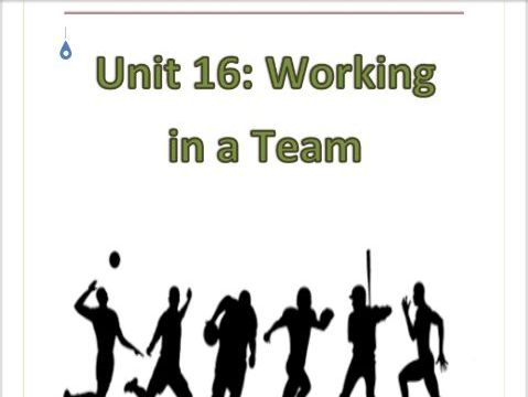 BTEC Level 1 in Sport Workpack - Unit 16