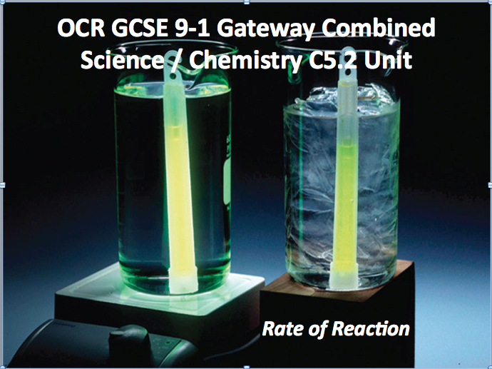 OCR GCSE 9-1 Gateway Combined Science / Chemistry C5.2 Unit