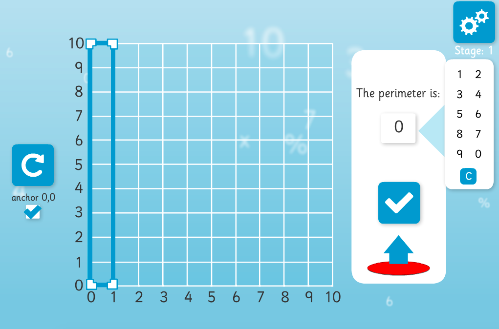 Area and Perimeter Interactive Teaching Tool - KS2 Measurement