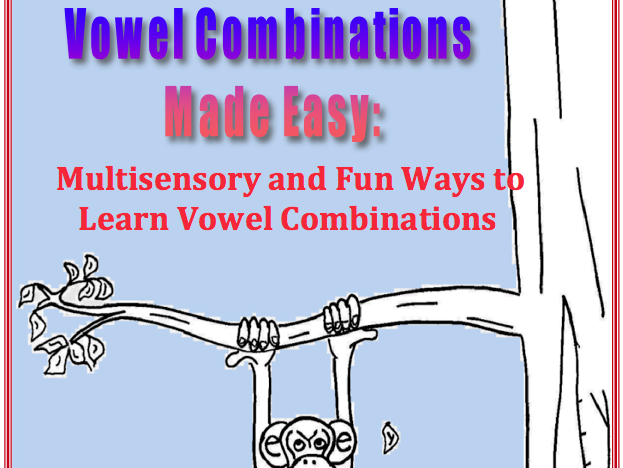 Vowel Combinations Made Easy Sample Pages and Activities