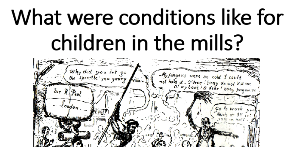 Children in the Mills