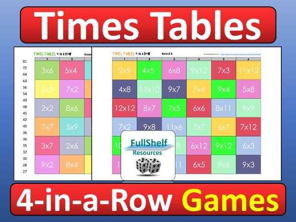 Times Tables Practice Games