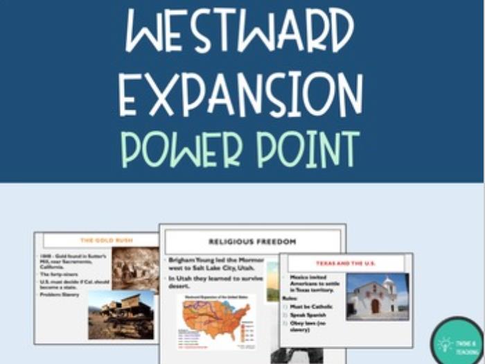 Westward Expansion Power Point