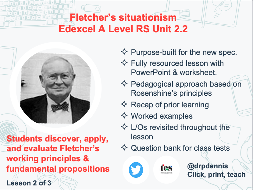 Fletcher's Situation Ethics (Edexcel new spec)