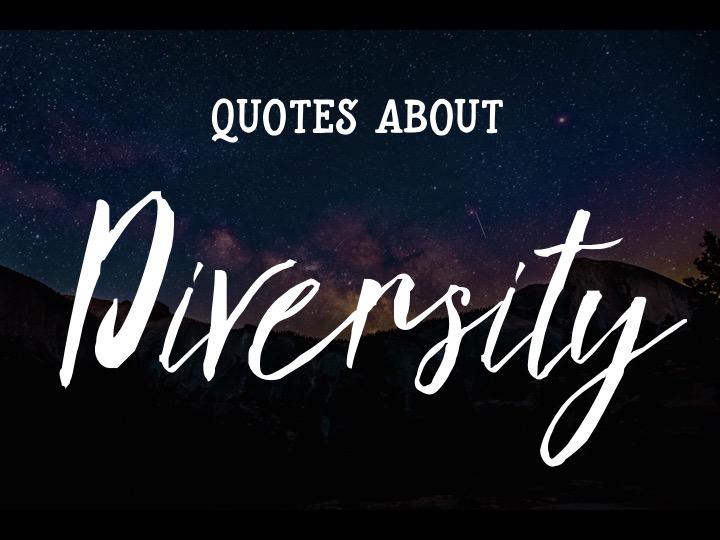 Creating Cultural Awareness:  Diversity Quotes & Activity