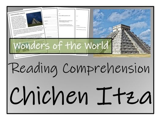 UKS2 History - Chichen Itza Reading Comprehension Activity
