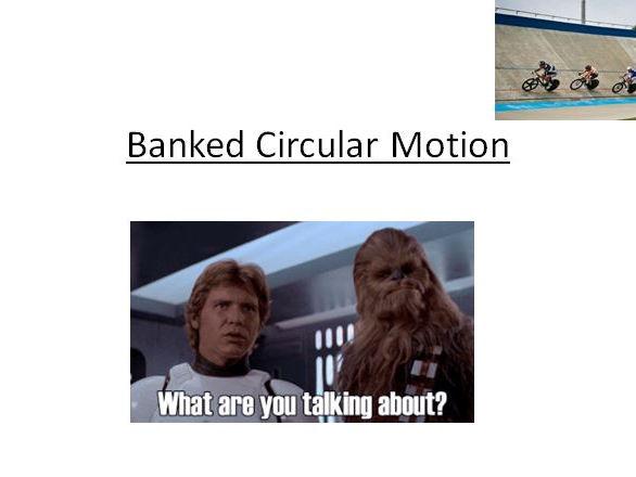 Banked Circular Motion