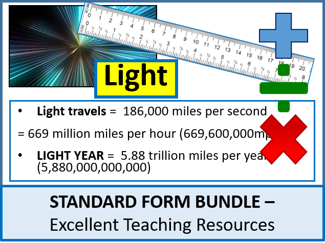 Number Standard Form Bundle 2 3 Lessons By Ajf43 Teaching