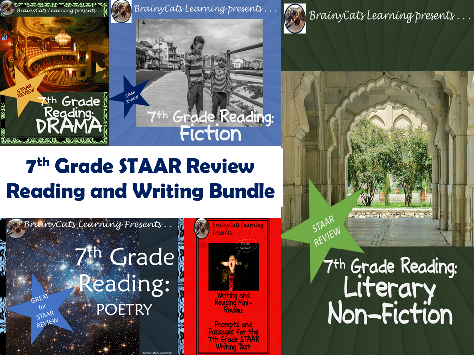 STAAR 7th Grade Reading BUNDLE