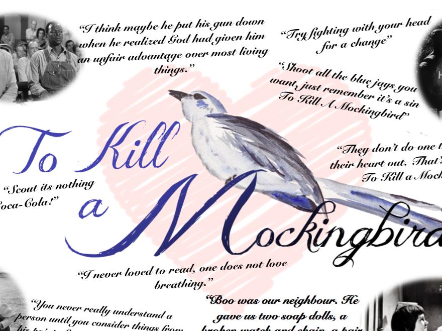 TO KILL A MOCKINGBIRD QUOTES POSTER