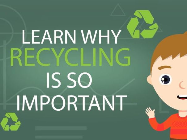 Recycling - Recycling for Kids - Why is Recycling so important?