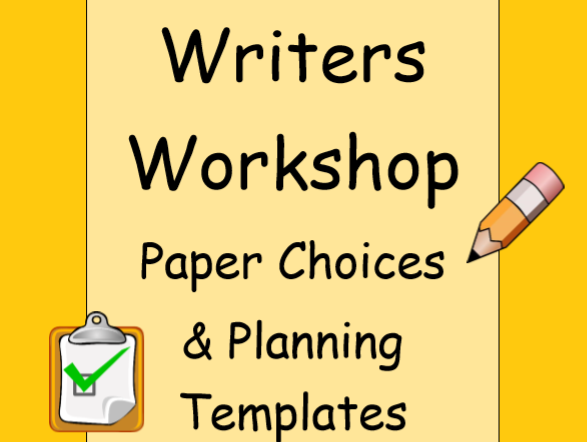 Writing Paper Choices & Planning Templates