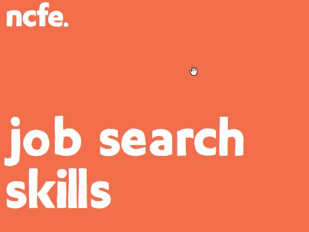 NCFE LEVEL 2 AWARD IN EMPLOYABILITY SKILLS (601/4664/3) Job Search Skills