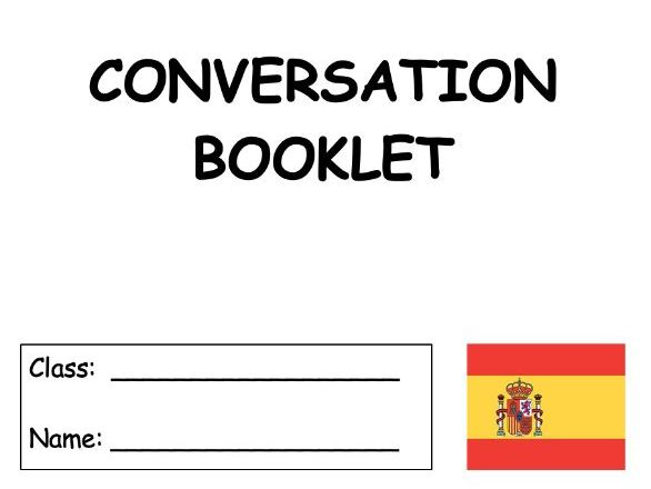 Spanish - General conversation booklet