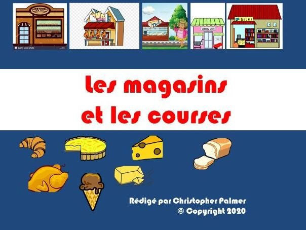 French: Shops and shopping (Key Stage 3)