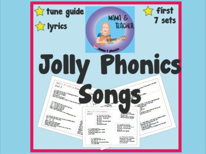 Jolly Phonics Song and Action Posters Set 1 - 7