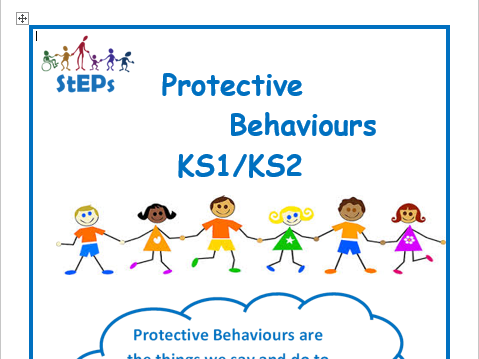 Protective Behaviours delivery workbooks and resources