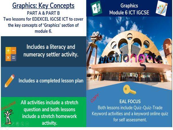 EDEXCEL IGCSE ICT – UNIT 6 GRAPHICS BASIC 1/2 (Bitmap v Vector, Resolution, Aspect Ratio, Cropping)