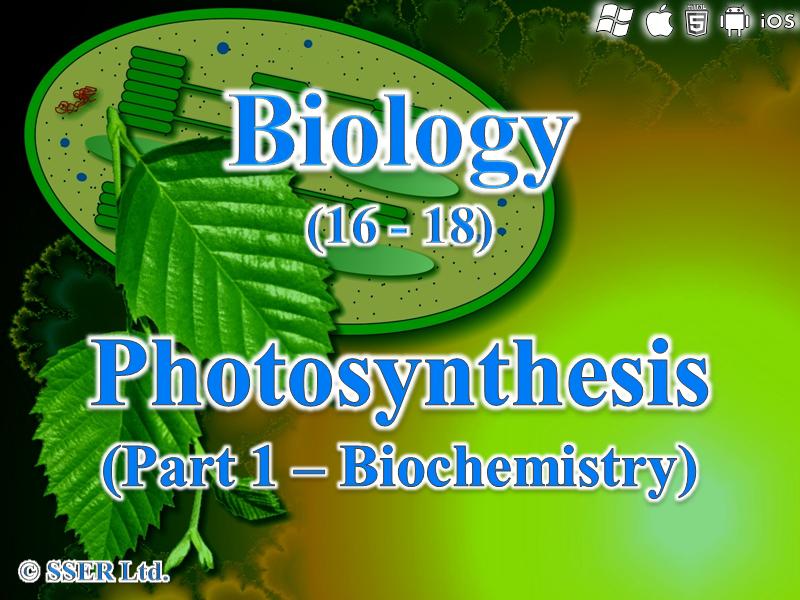 3.5.1 Photosynthesis - Biochemistry