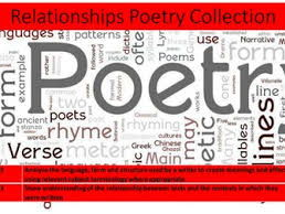 Relationships Poetry Bundle