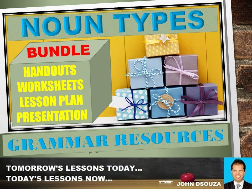 NOUN TYPES: BUNDLE