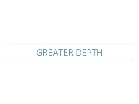 KS1 SATs Greater Depth Maths Evidence