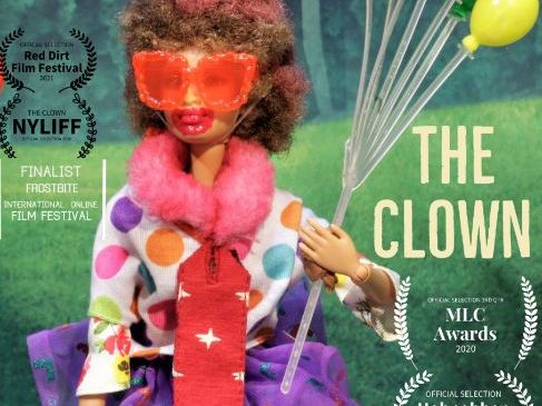 """Original stop motion 9 minute film - """"The Clown"""" -- with activities"""