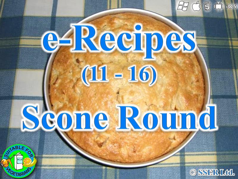 55. Scone Round (e-Recipe)
