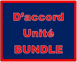 D'accord 1 Unité 2 Bundle