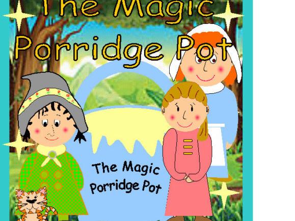 The Magic Porridge Pot Masks Puppets Story Sack Resources