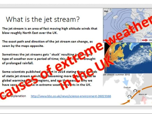 Geography Causes of extreme weather in the UK