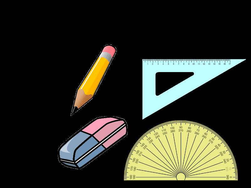 School Supplies Worksheets KS1