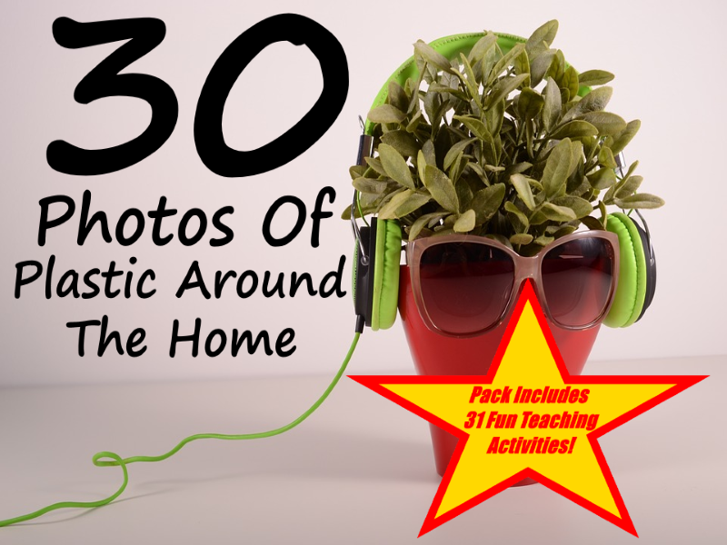 30 Photos About Using Plastic Around The Home + 31 Fun Teaching Activities For These Cards