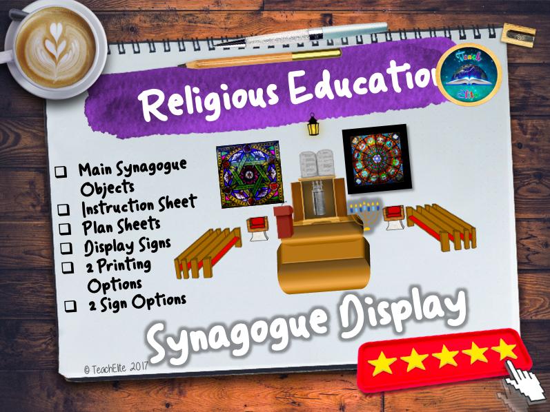 RE Synagogue Display