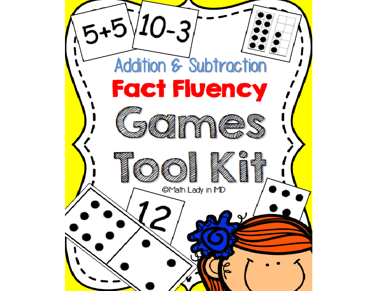 Fact Fluency Games Tool Kit: Addition & Subtraction Facts