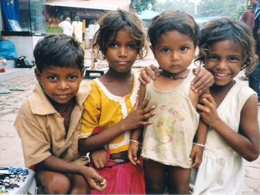 Street Children - Wealth and Poverty