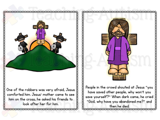 Easter Flashcard Story, Bible