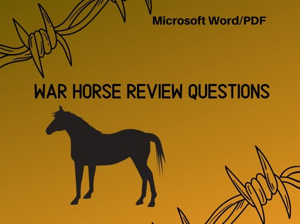 War Horse (Movie) Review Questions