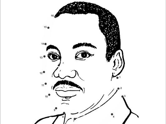 Martin Luther King Jr Day Activity Book