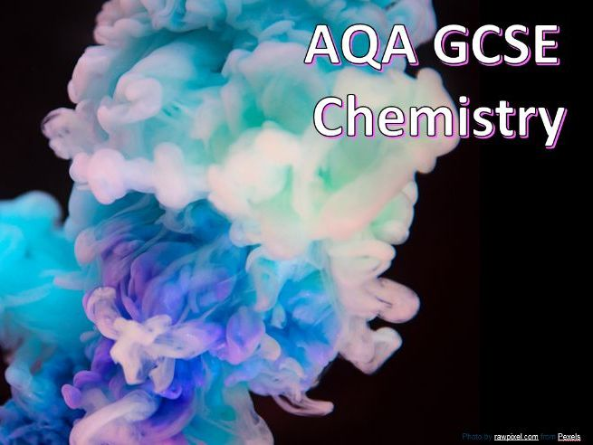 AQA GCSE Chemistry Required Practical - Chromatography