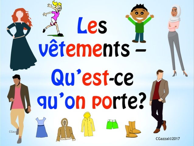 Clothes in French and Colour Adjectives - A Complete Guide.