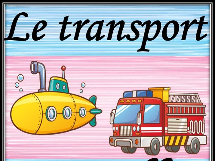 Transport in French. Bundle.