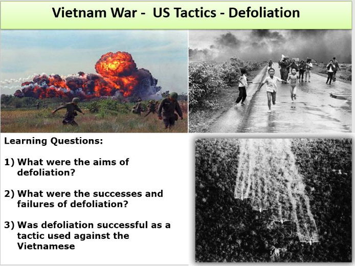 an analysis of military tactics of usa and the vietcong Vietnam war study - impact of vietcong tactics on us withdraw the vietcong military had different motivations and psychological effects from being in the war.
