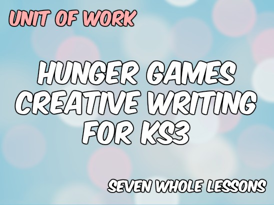 Creative writing games ks3