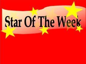 Star of the Week Display