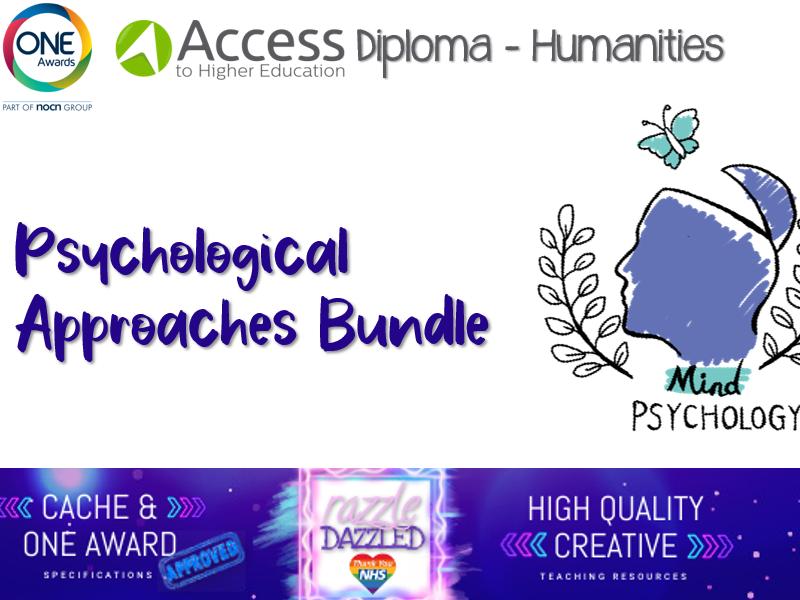 Psychological Perspectives Bundle (Psychology Approaches)