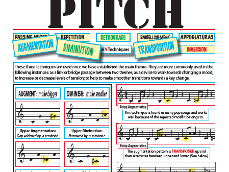 Aug. / Dim composing and recognition with worksheet